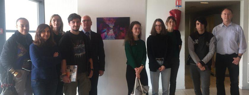 5 avril 2018 :Le Prix du Lycée Condorcet est remporté cette année par Laurent Crevon pour son oeuvreLe Portail
