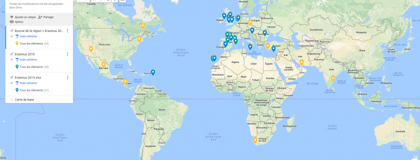 De début mai à début juillet, nos étudiants de BTS CI et AM sont en stage à l'étranger