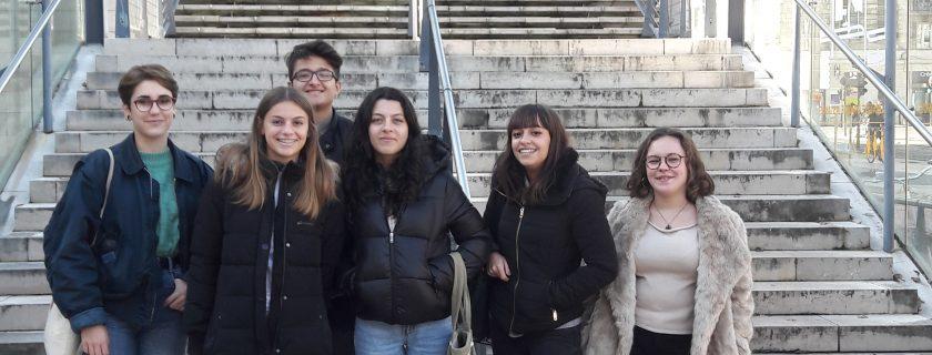 7 novembre 2017 : Visite des élèves de terminale L, spécialité Droit et Grands enjeux du Monde Contemporain au Tribunal de Grande Instance de Bordeaux