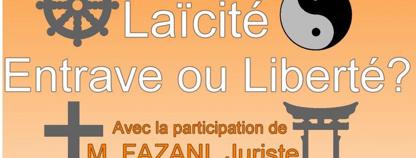 19 décembre 2017 : Rendez-vous pour le 2ème condor'Café autour du thème de la laïcité (12h30 – 13h30 à la MDL)