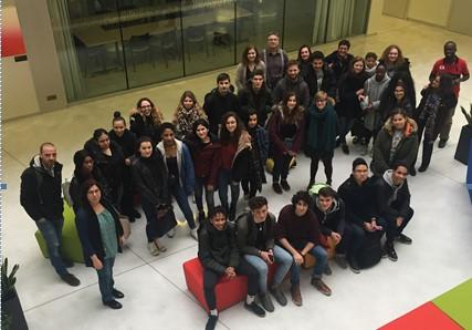 Quand les classes de TS1 et TS2 du Lycée CONDORCETparticipent à un projet autour des neurosciences