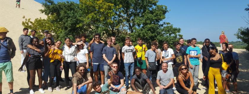 11 septembre 2018 : Journée d'intégration des 1eres STMG 1 et 2