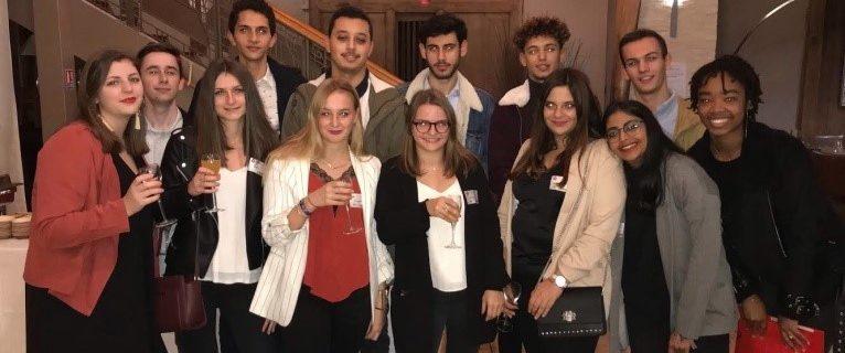 15 novembre 2018 : Des étudiants de 1ère et 2ème année du BTS Comptabilité et Gestion ont participé à la 11ème NUIT QUI COMPTE Bordelaise