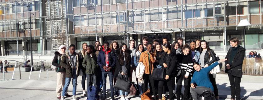 22 novembre 2018 : Des élèves de TS se sont rendus à l'université de Bordeaux