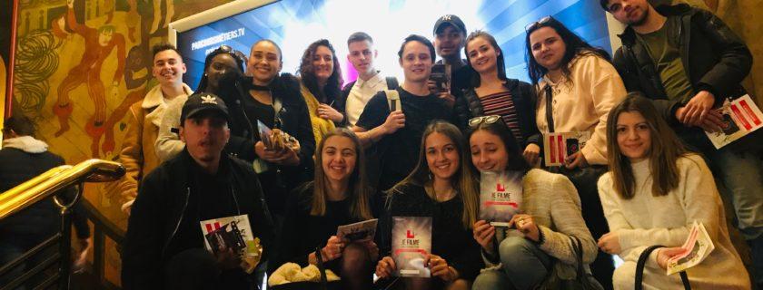 21 mars 2019 : Les SAM1 à la cérémonie de récompense du concours «Je filme ma formation» au Grand REX à Paris