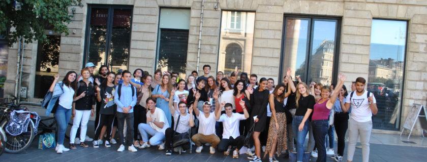 11 et 12 septembre 2019 : 2 journées d'intégration pour les étudiants en STS Commerce International du Lycée Condorcet !