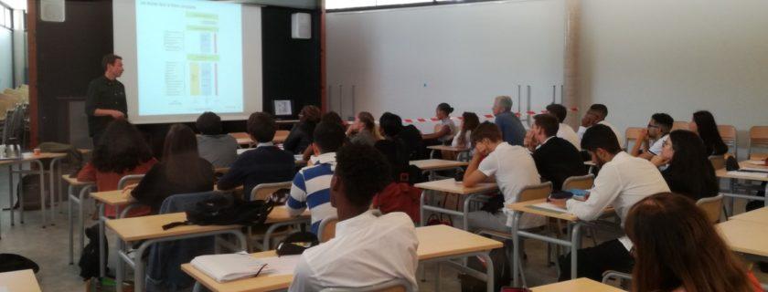 1er octobre 2019 : Les CG1 assistent à une conférence sur les outils du recrutement